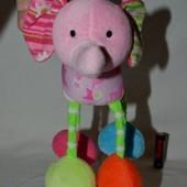 Фирменная подвеска погремушка слоник для вашей малышки