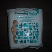 Подгузники-трусики Tesco Everyday Value размер 5 вес 12-18 кг