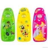надувной плотик детский  с ручками 466-943 Зеленый