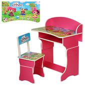 Парта растишка детская 301, столик со стульчиком