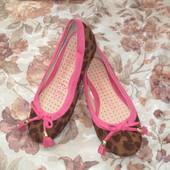 леопардовые  туфельки  George 20 cм стелька