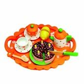 Чайный сервиз с тортом на подносе Bino 83414