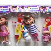 Докторский набор (фигурок) с куклой  Доктор Плюшева