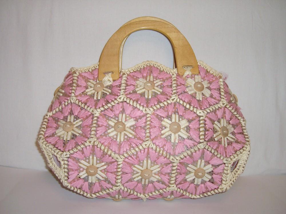 Сумочка плетеная для девочки фото №1