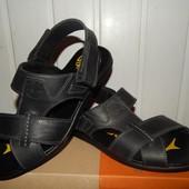 Мужские кожаные сандалии Timberland. Распродажа!