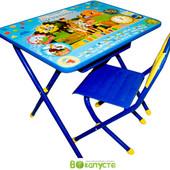 Детский складной набор мебели Дэми Союзмультфильм Простоквашено, синий (Д-20031212)