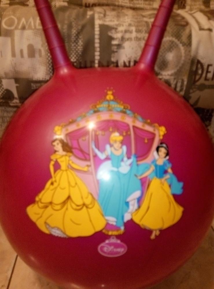 Мяч прыгунок принцессы фото №1