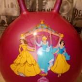 мяч прыгунок принцессы