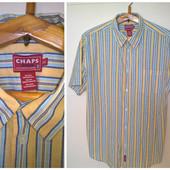 Рубашка мужская с коротким рукавом L/XL