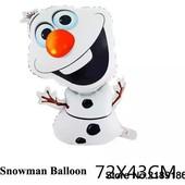 воздушный шар снеговик Ельзы