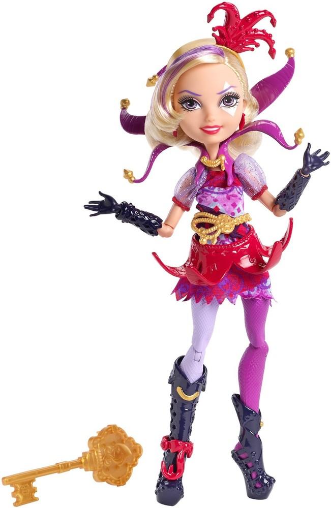 Кукла эвер афтер хай кортли джестер. ever after high way too wonderland courtly jester doll фото №1