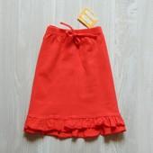 Новая яркая трикотажная юбка для девочки. X-ceed. Размер 3-4 года