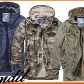 Мужская брендовая куртка парка Brandit  2 в 1 со съемной подстежкой