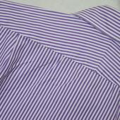 Мужская рубашка T.M.Lewin London. качество - супер. в полоску, полосатая, фирменная