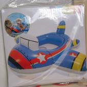 Детский надувной круг  Intex 59586 самолет 89*76 см.