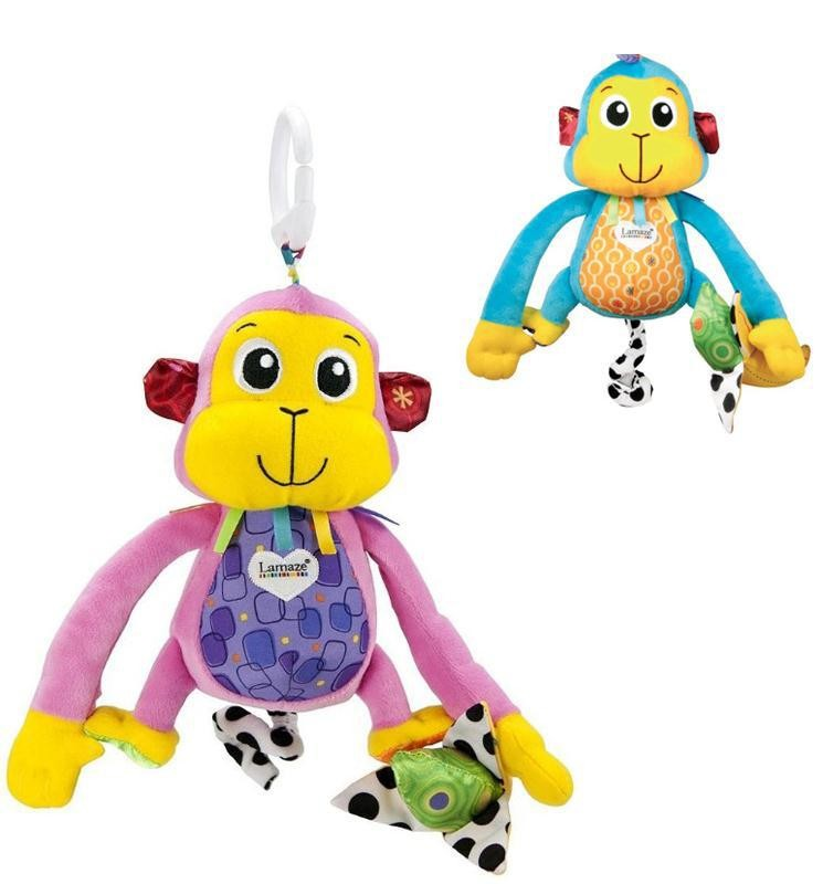 Подвесная игрушка обезьянка (обезьяна) lamaze фото №1