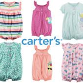 Ромпер песочник для девочки Картерс большой выбор расцветок