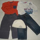 пакет одежды на 12-18мес. мальчику