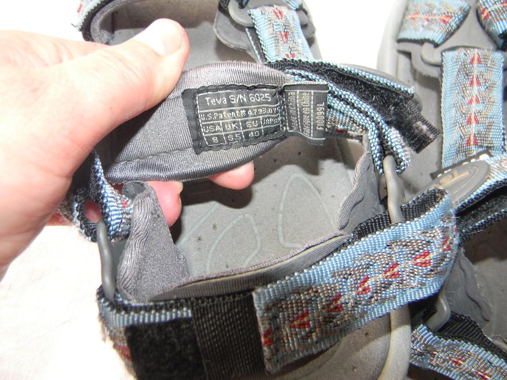 Спортивные сандали teva р.40 дл.ст 26 (24,5)см фото №9