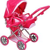Коляска для куклы Melogo 9346 Мелого кукольная коляска