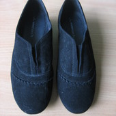 Фирменные замшевые (натуральная замша) туфли Monarсh, Монарх, р. 37