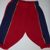 спортивные штаны 6-12 мес