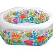 """Детский надувной бассейн Intex """"Океанский риф"""" 56493"""