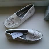 Кожаные туфли, мокасины р.27-32