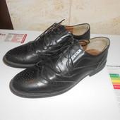 Туфли броги натуральная кожа р. 45 (29,5 см)
