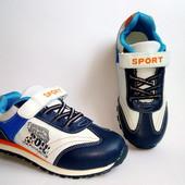 Стильные кроссовки для мальчиков 32-37р