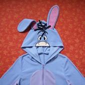 ? На брони! Человечек-пижама-карнавальный костюм Ослик Иа от Disney, б/у.