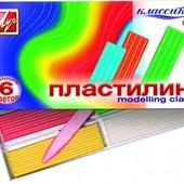 "Пластилин ""Классика"" со стеком (540222) Луч 12С 878-08"