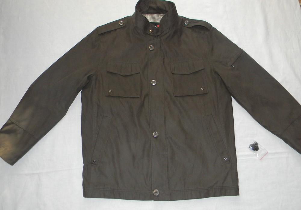Мужская легкая куртка-пиджак jupiter р.52 фото №1