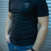 Мужская футболка трикотаж