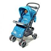 Детская прогулочная коляска с перекидной ручкой Baby Tilly Elephant bt-ws-0001 blue