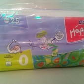 Подгузники Bella Happy Before Newborn 0(0-2 кг) 25 шт памперси Хеппи