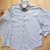 Рубашка мужская плотный хлопок, YvesSantlaurent, размер XXL, б/у.