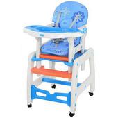 Бемби 1563 стульчик для кормления трансформер качалка Bambi столик и стульчик