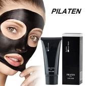 Черная маска-пленка для удаления черных точек  Black Mask Pilaten с голограммой, 60 гр