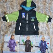 Курточка ветровка дождевик Lupilu (Германия) р. 86-92