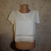boohoo блузка укороченная стильная модная р12