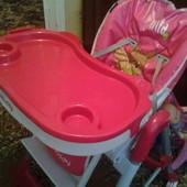 Стульчик для кормления Baby Point Pinta Розовый