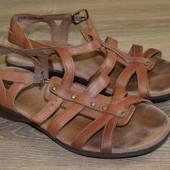 Clarks 38р туфельки, кожаные,  сандалии босоножки