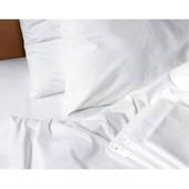 Белая простынь бязь, сатин, на резинке, есть размеры
