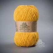 Пряжа Этно-Коттон 1200 (Ethno-Cotton 1200),жёлтый  артикул 007
