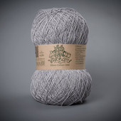 Пряжа Этно-Коттон 1200 (Ethno-Cotton 1200),средне серый артикул 017