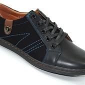 Подростковые туфли полуспорт Black Fashion