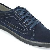 Мужские туфли комфорт Dk Navy