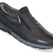 Мужские туфли комфорт Black