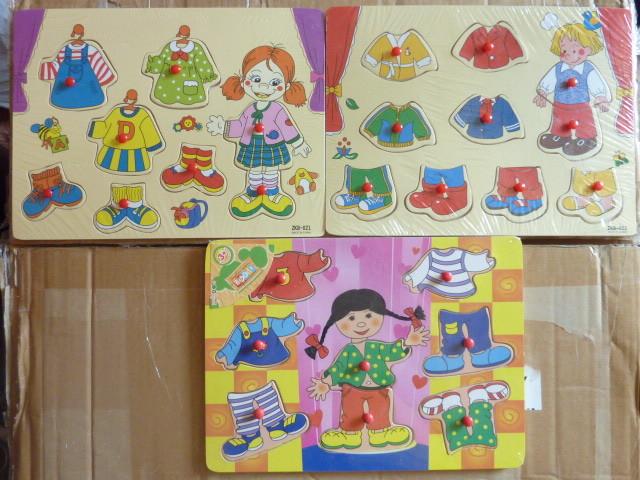 Рамки-вкладыши с ручками для развития деток фото №1